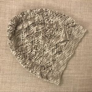 Alice and Olivia Crocheted Beanie